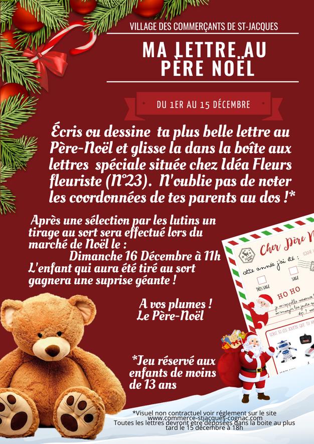 Site Lettre Au Pere Noel.Ma Lettre Au Pere Noel