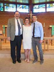 Alicia and Jacob Cline wedding in May of