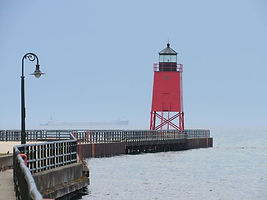 The Charlevoix Light.  Can you see the o