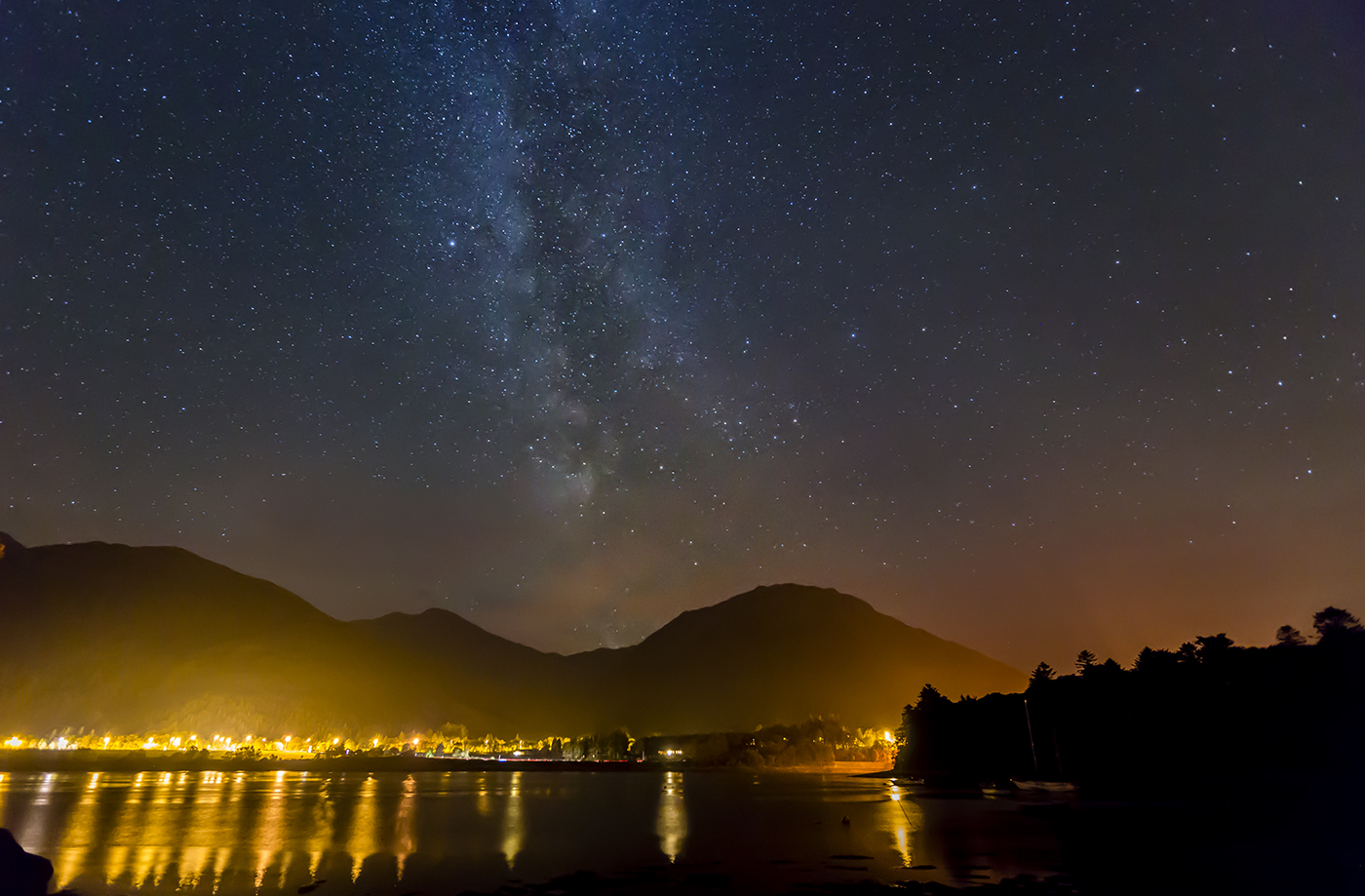 MILKY WAY OVER LOCH LEVEN by Paul Langford.jpg
