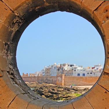 THROUGH THE CIRCULAR WINDOW by Sue Avey