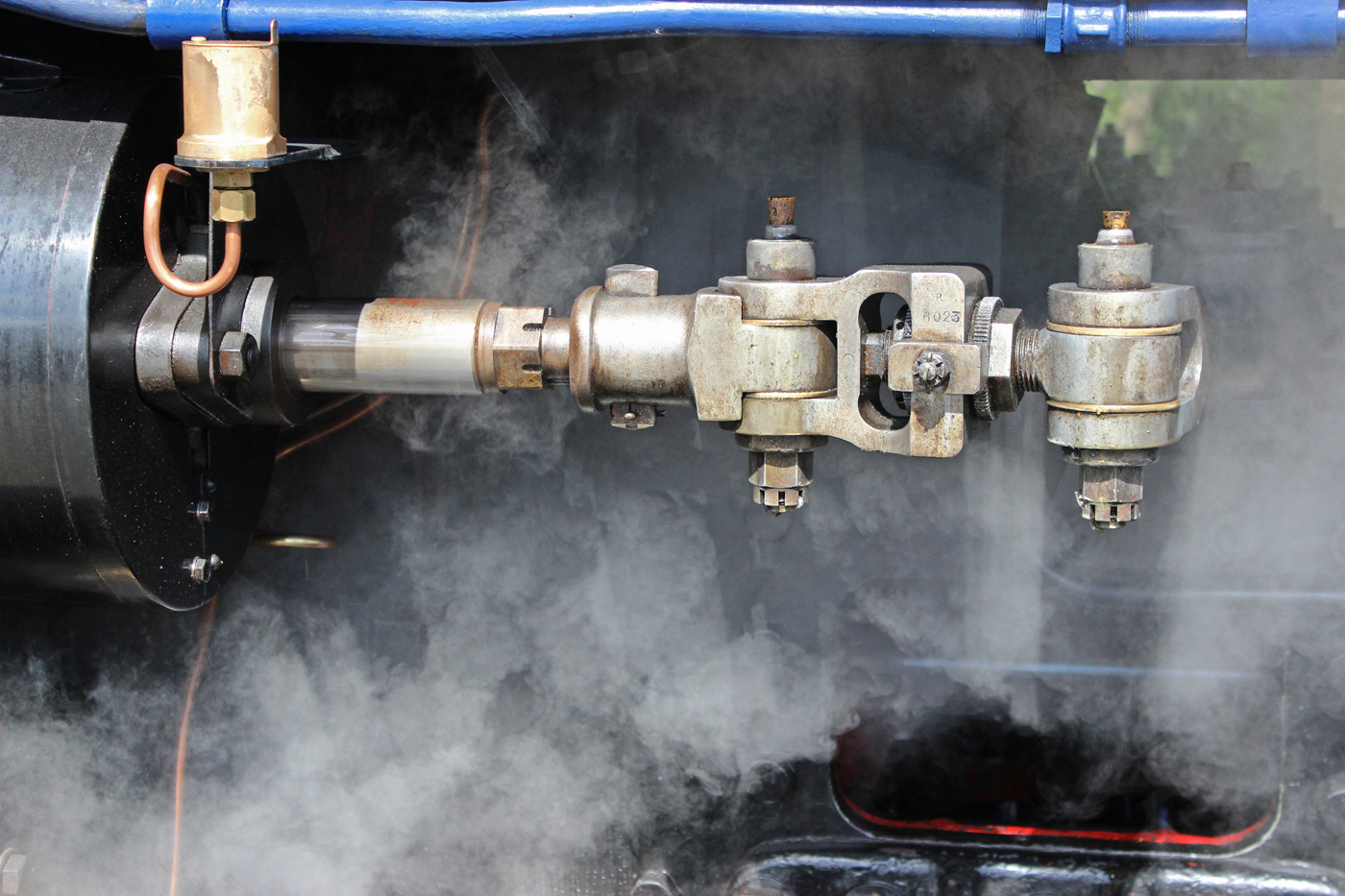 ENGINE DRIVEN BY STEAM by Sue Avey