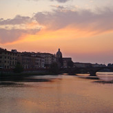 SUNSET IN FLORENCE by Bushra Sheikh.JPG