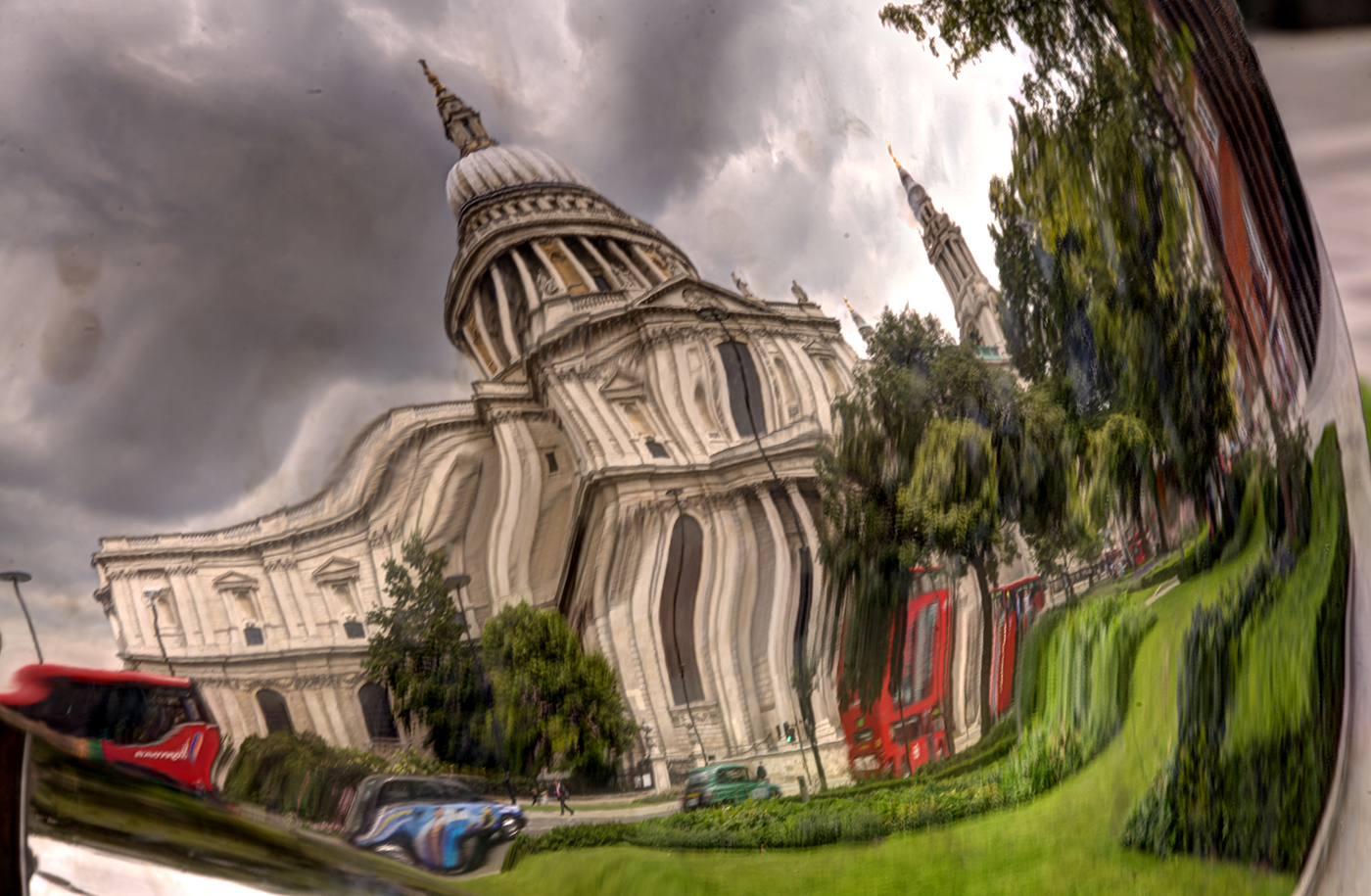 REFLECTING ST PAUL'S by Rojer Weightman.jpg