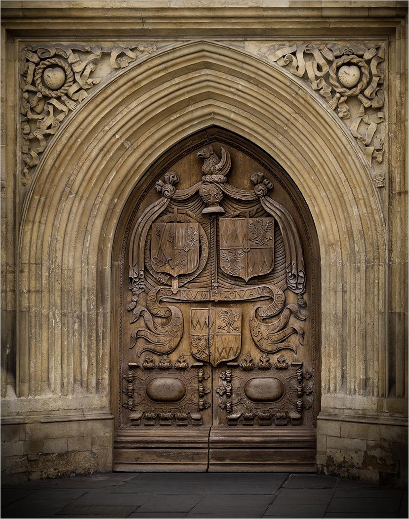 BATH ABBEY DOORS by Ken Grant
