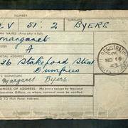IDENTITY CARD NOV 16 1943 by Michael Tur