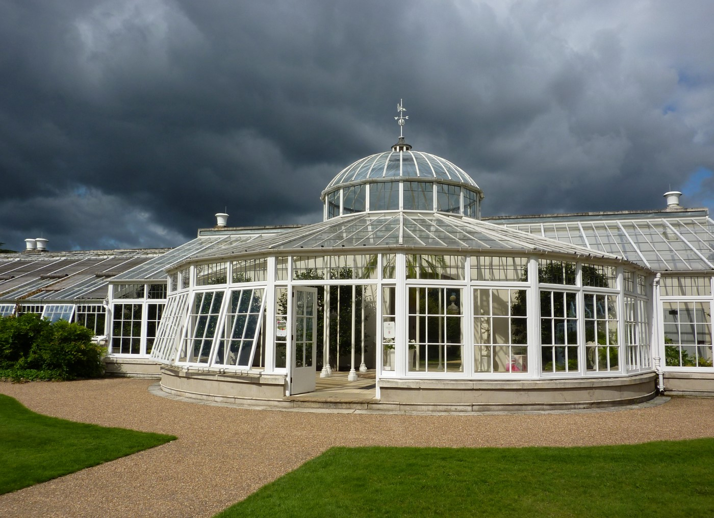 STORM CLOUDS AT CHISWICK by Jim Chown