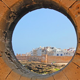 THROUGH THE CIRCULAR WINDOW by Sue Avey.