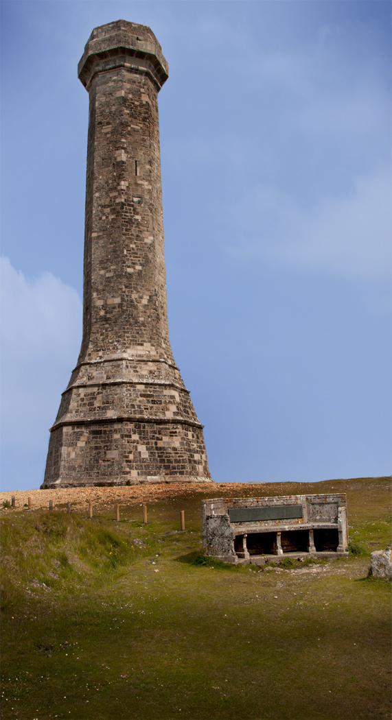 HARDY MONUMENT by Don Dobson