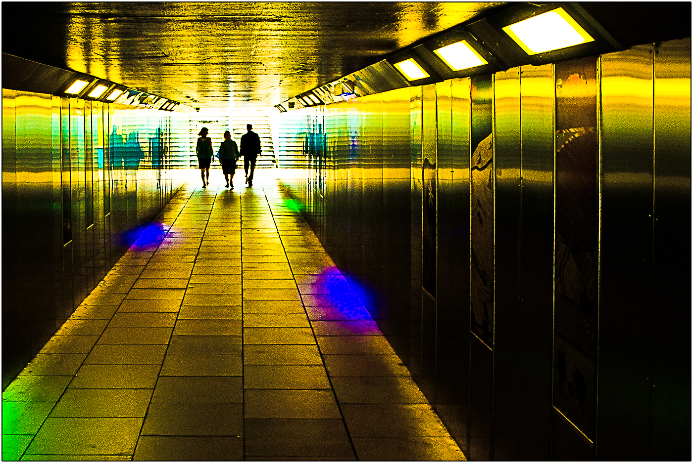 LEAVING THE SUBWAY by Andy Smith.jpg