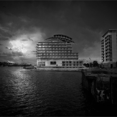 VIEW OVER CARDIFF BAY by Ken Grant.jpg