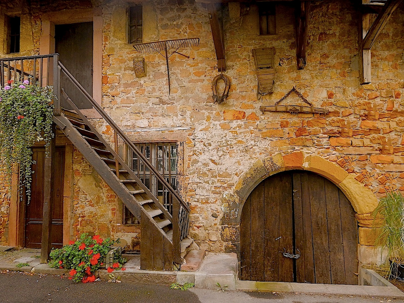 COURTYARD DOORS by Bill Berloth