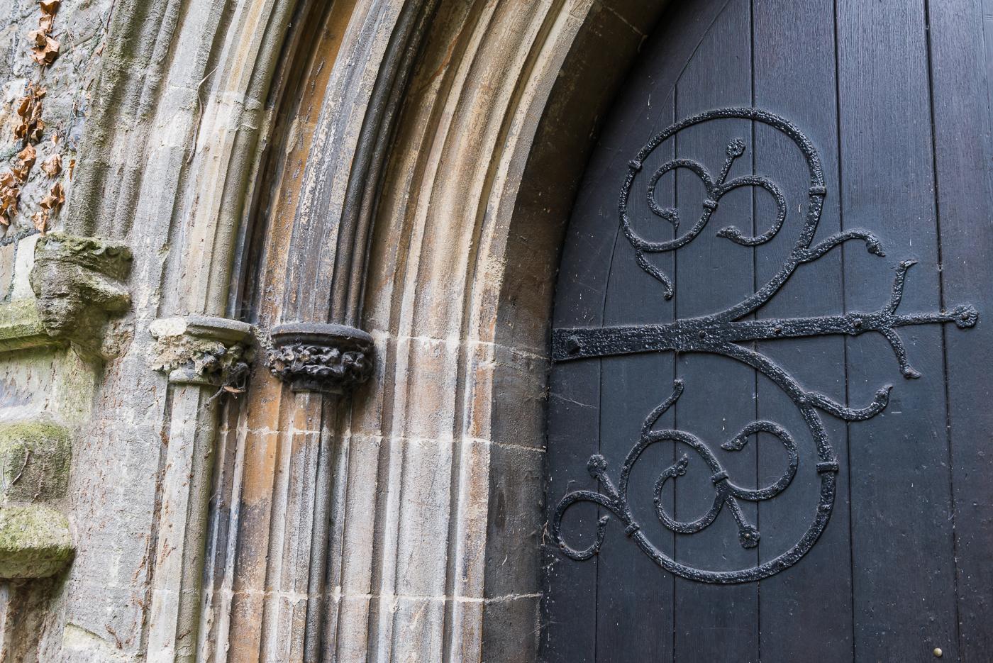 CHURCH DOOR DETAIL by Paul Dubbelman