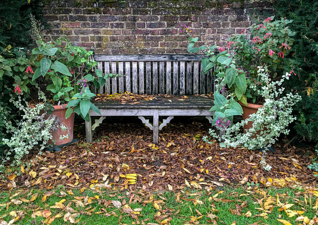 A QUIET CORNER IN OSTERLEY by Annette Si