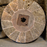 THE OLD MILL STONE by Leanne Medhurst.jp