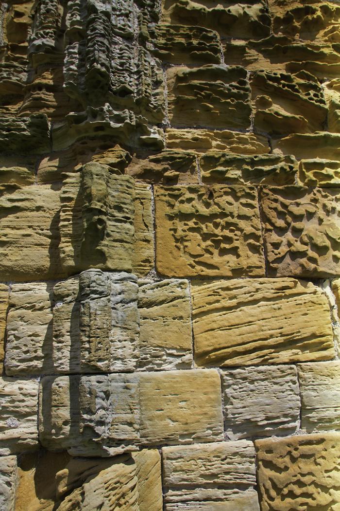 SANDSTONE WALL by Peter Morrish.jpg