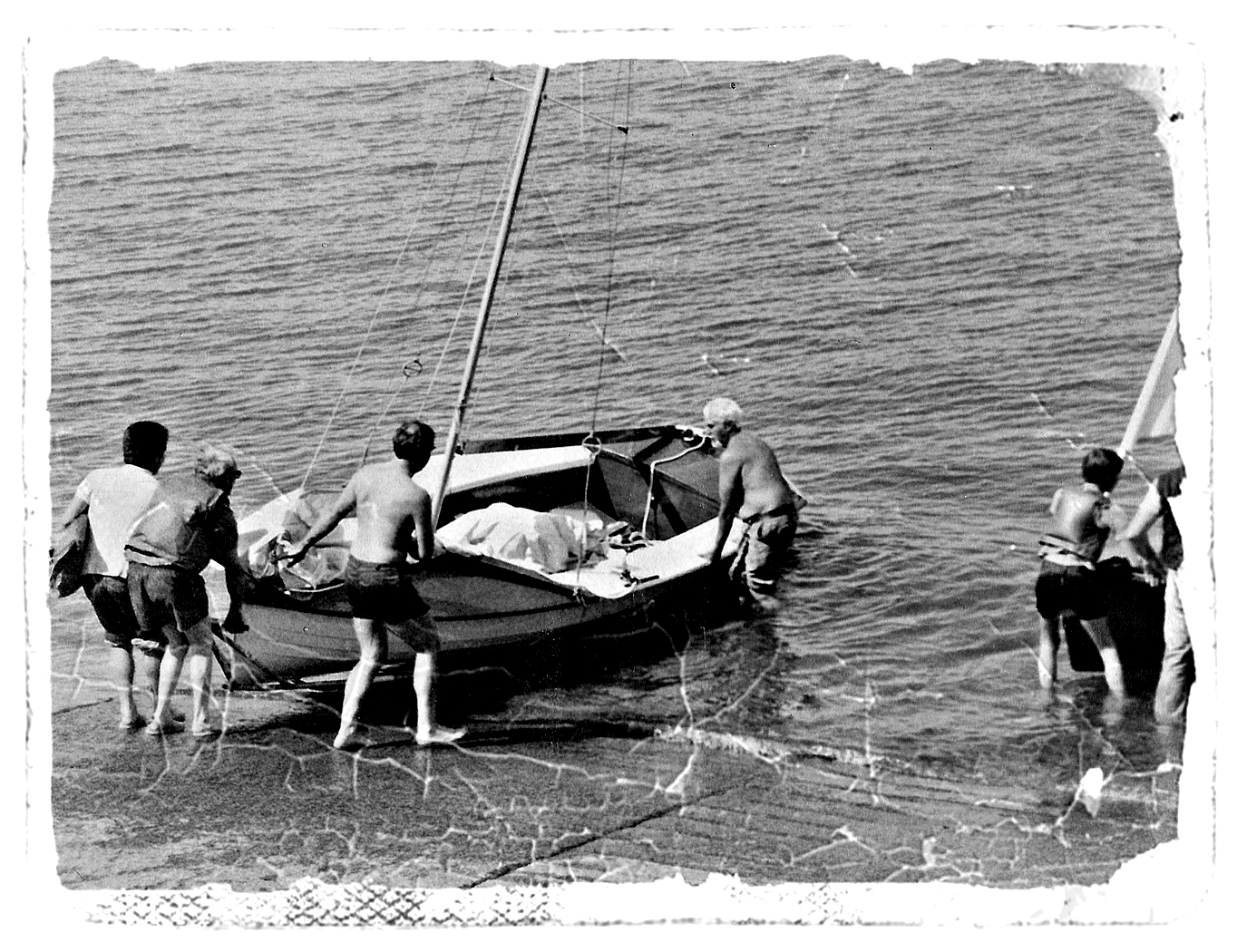 OLD BOYS AND BOATS by Rojer Weightman