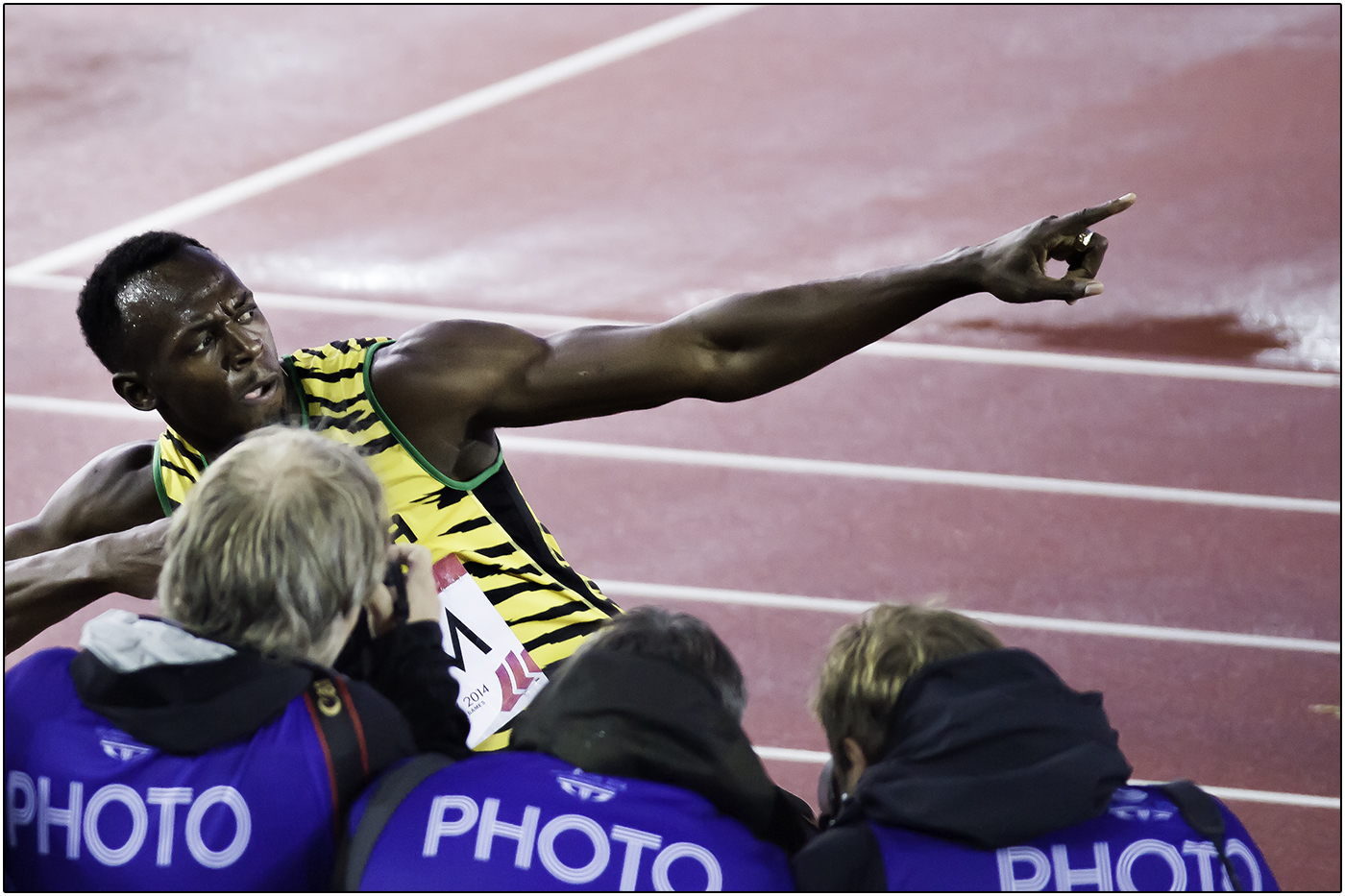USAIN BOLT IS D MAN by Andy Smith