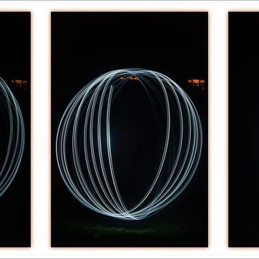 DYING ORB TRIPTYCH by Andy Smith