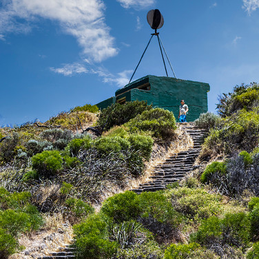 STAIRWAY TO WEATHER STATION by Don Dobso