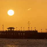 ORANGE MORNING SWANAGE by Andy Smith.jpg