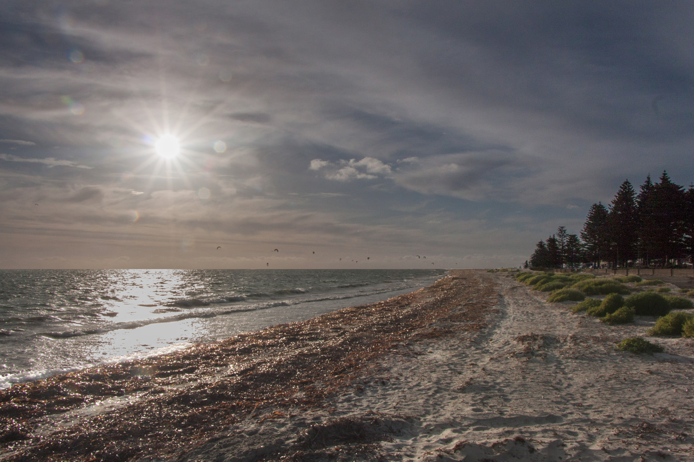 SUN GOING DOWN by Don Dobson