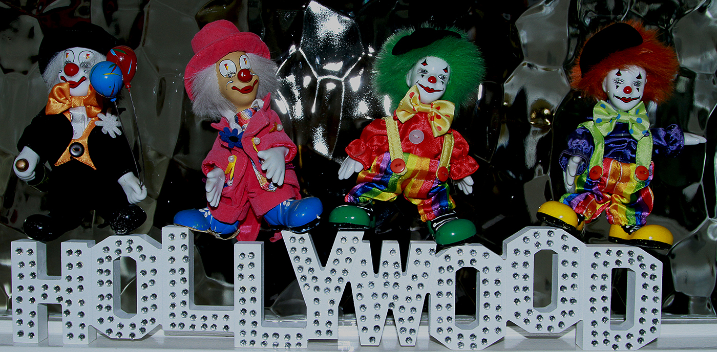 CLOWNS ON HOLLYWOOD by Maurice Wells.jpg