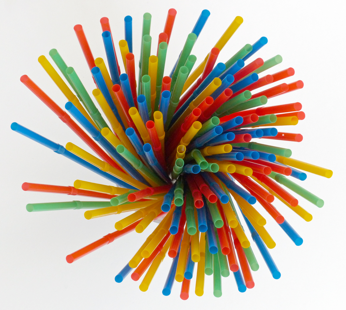 DRINKING STRAWS by Jane Morrish