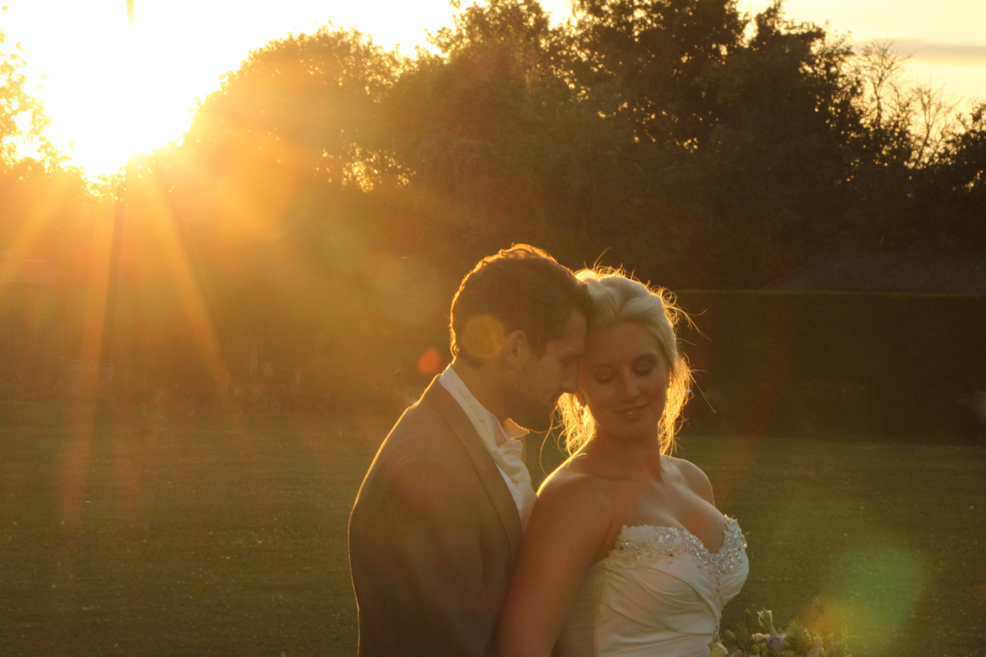 WEDDING SUNSET by Don Dobson