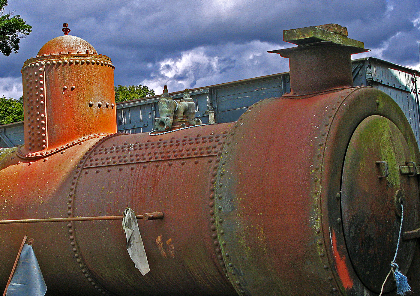 WAITING RESTORATION by Jim Morrissey