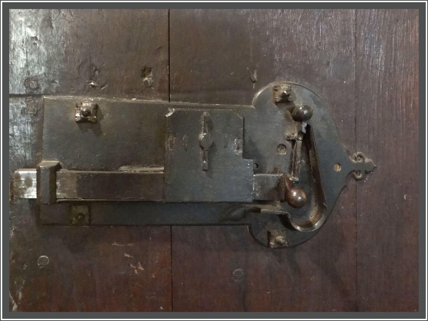 LOCK OF THE DOOR by Jim Williams