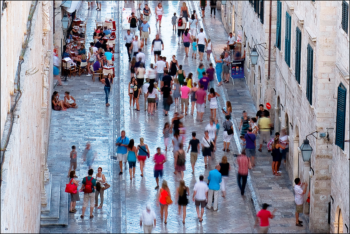 EVENING STROLL IN DUBROVNIK by Andy Smith