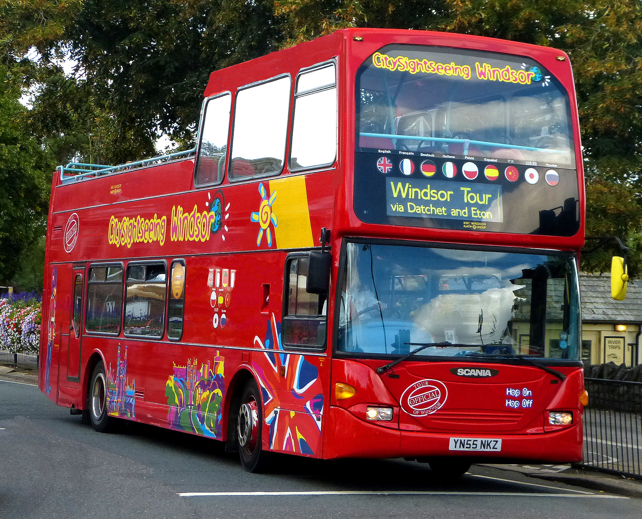 DOUBLE DECKER TO DATCHET by John Cano-Lopez