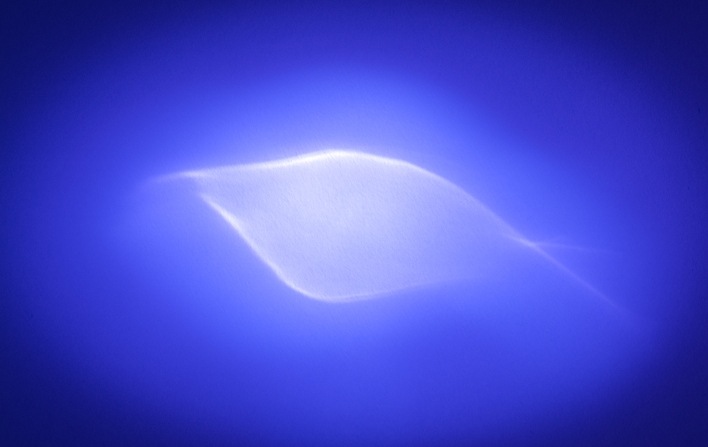 LIGHT REFLECTION - FISH OR EYE by Peter Morrish