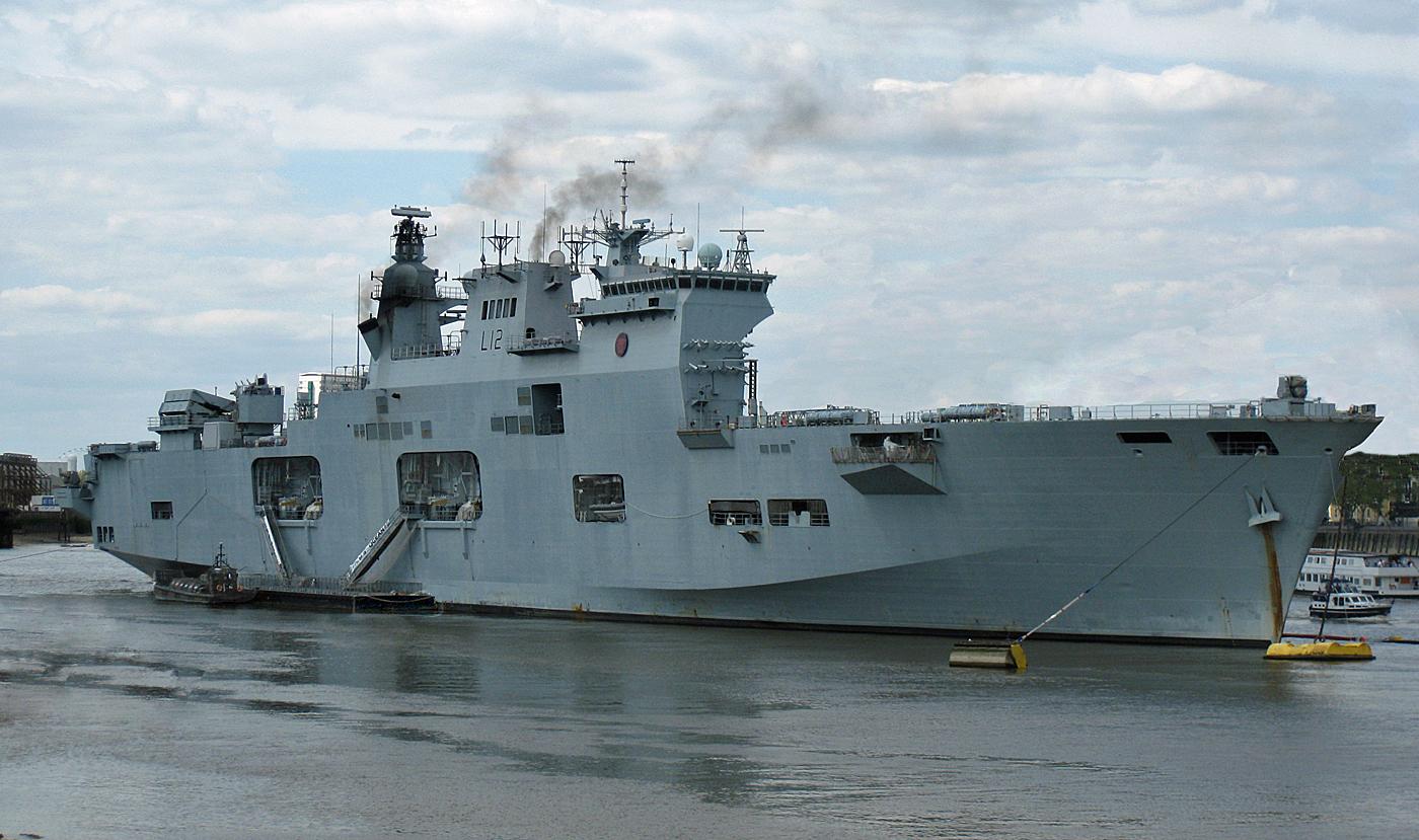 HMS OCEAN  by Dave Taylor.jpg