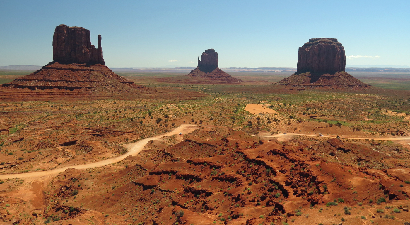 MONUMENT VALLEY by Sally Botwright