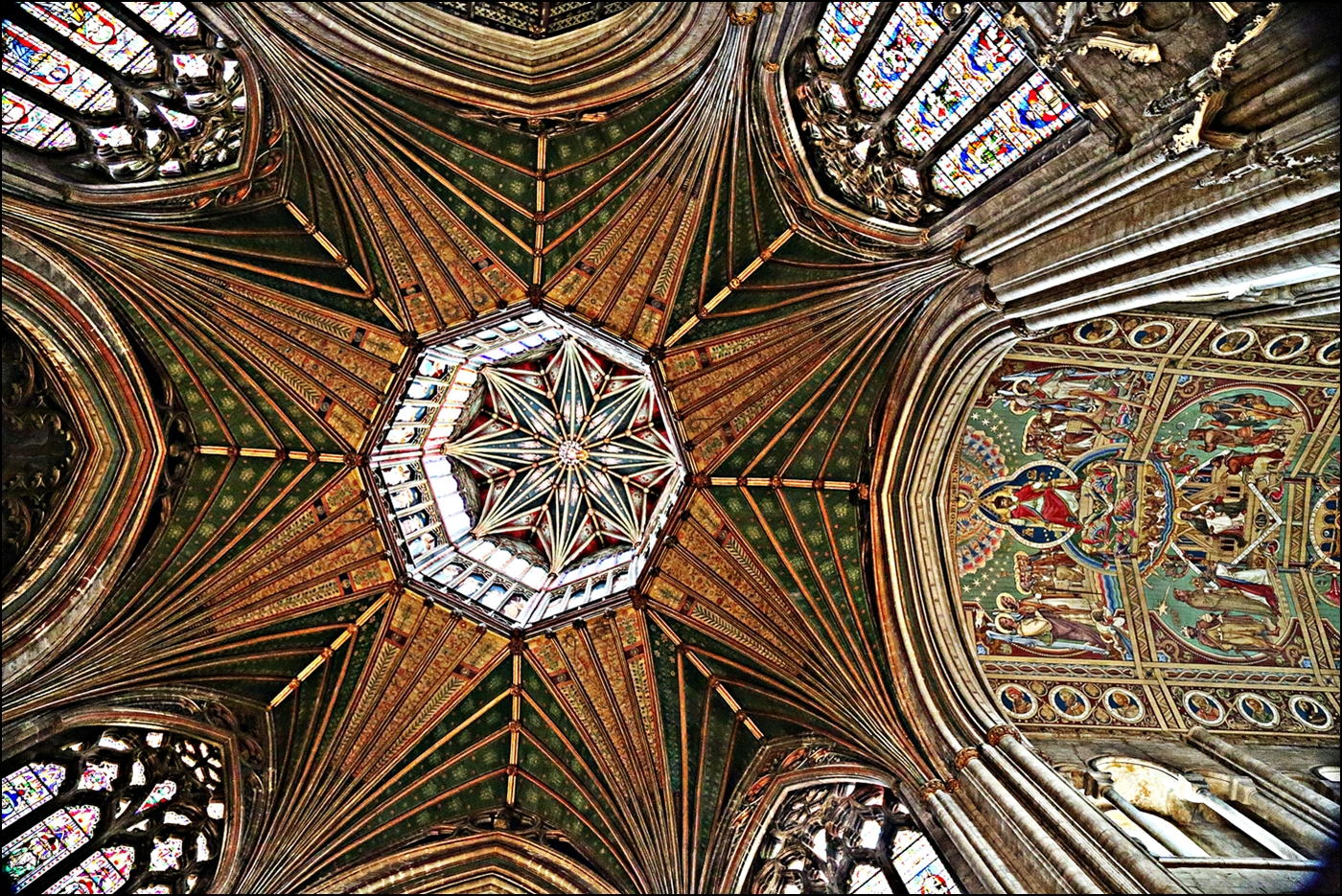 ELY OCTAGON by Rojer Weightman