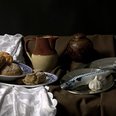 STILL LIFE WITH FISH by Rojer Weightman.
