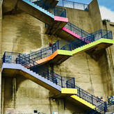 COLOURFUL STAIRS by Annette Sissons.JPG