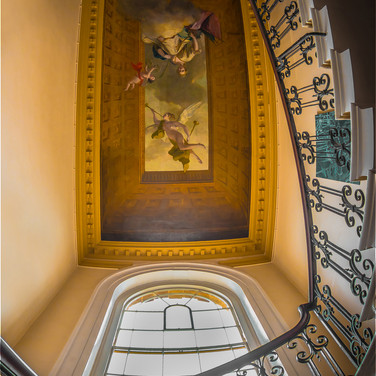 FAME AND FORTUNE STAIRCASE STOWE by Harv