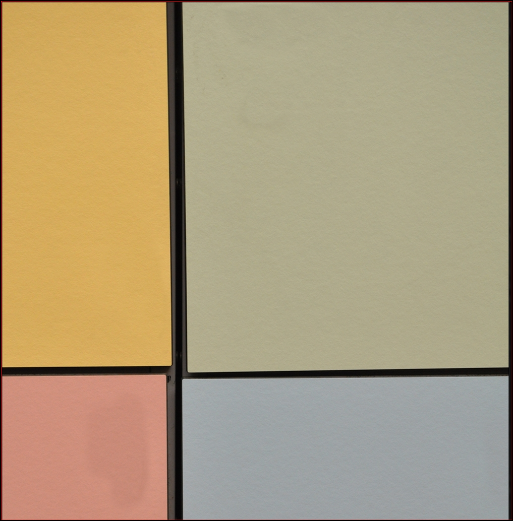 A PALER KIND OF MONDRIAN by Rojer Weightman