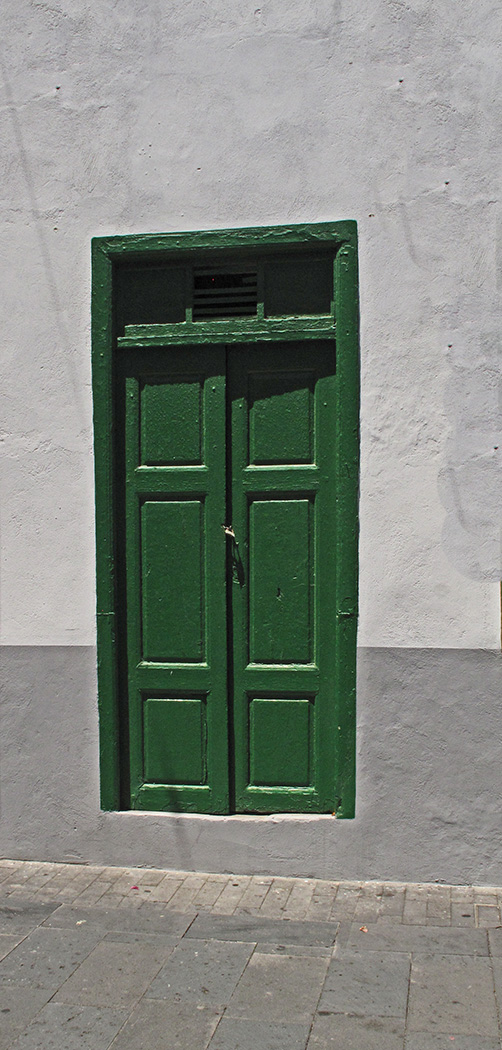 BEHIND THE GREEN DOOR by Liam Mengham
