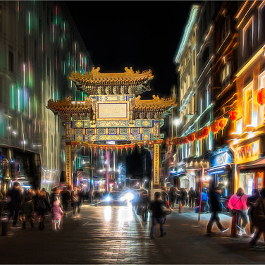 THE ELECTRIC VIEW OF CHINATOWN by Ken Gr