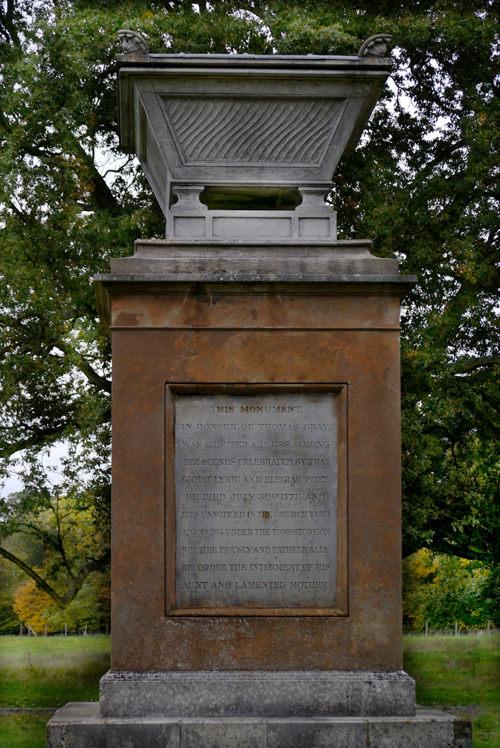 THOMAS GRAY MONUMENT by Dave Taylor