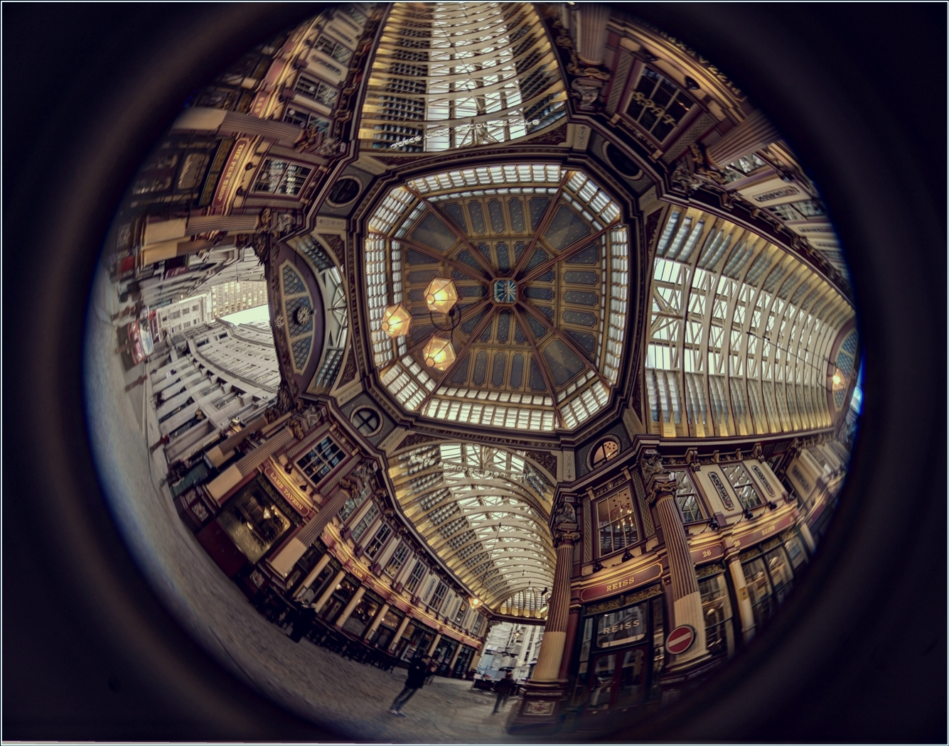 LEADENHALL CEILING by Rojer Weightman