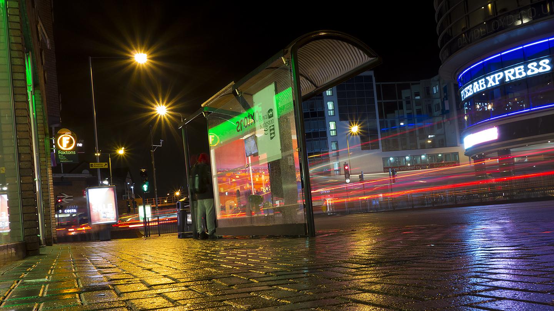 WET NIGHT, LAST BUS by Paul Langford.jpg