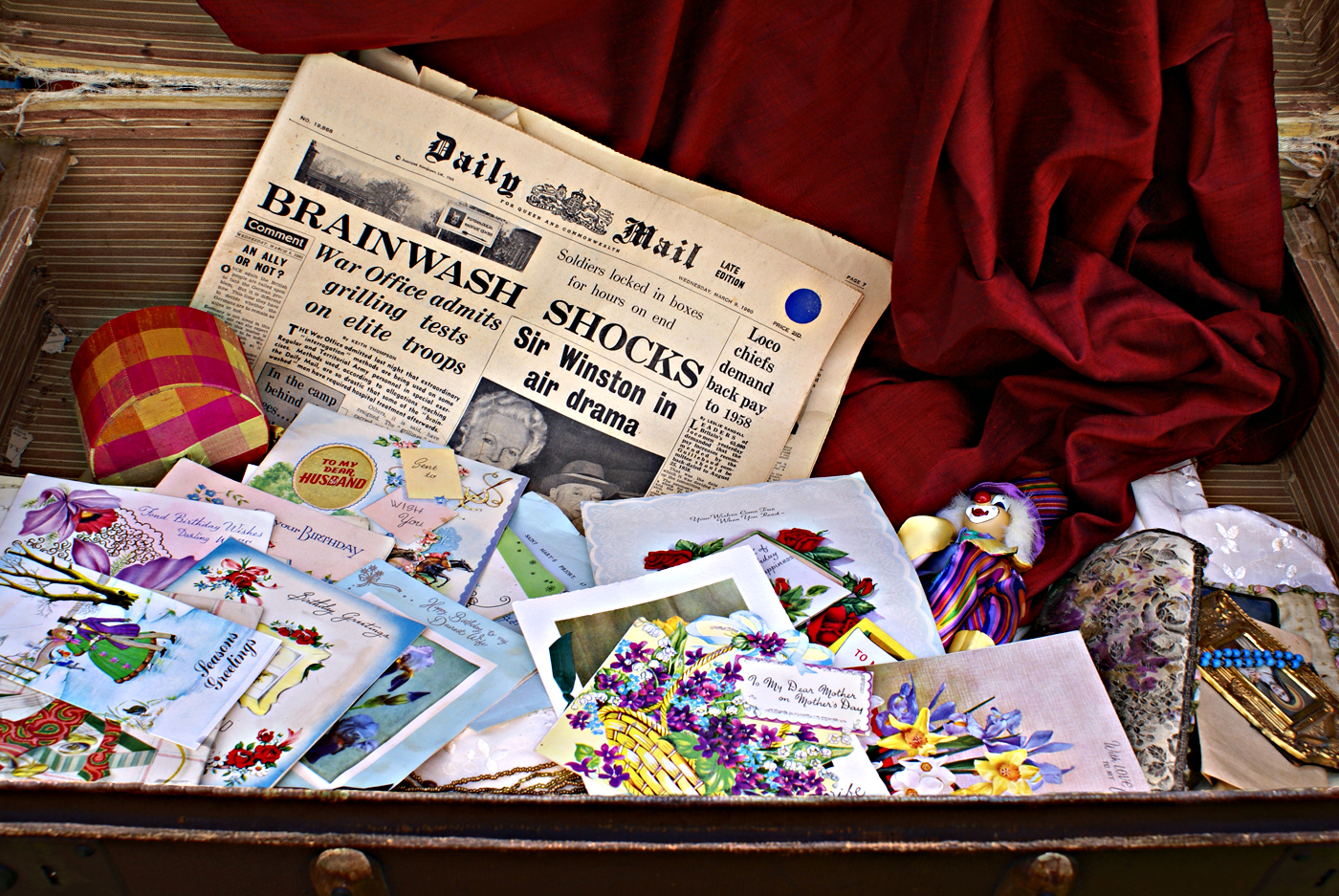 A TRUNK OF MEMORIES FROM TIME GONE BY by Linda Miles.jpg