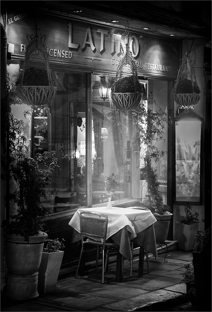 A TABLE FOR TWO by Peter Morrish