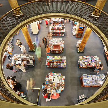 BOOKSHOP BUENOS AIRES by Andy Smith
