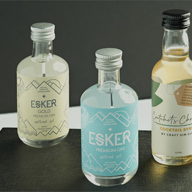 ANGULAR GIN AND COCKTAIL BOTTLES by Andy